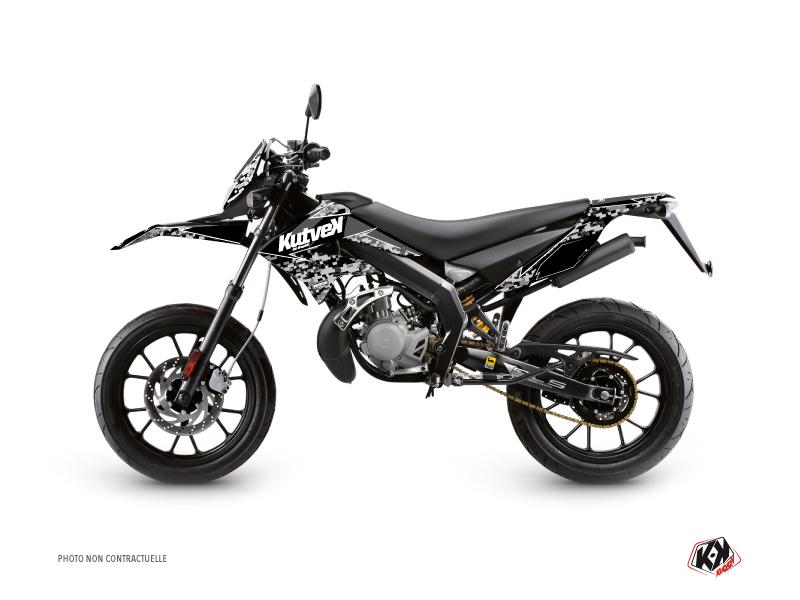 Derbi DRD Xtreme 50cc Predator Graphic Kit Black