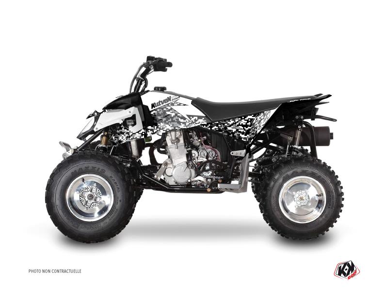 Polaris Outlaw 450 ATV Predator Graphic Kit White