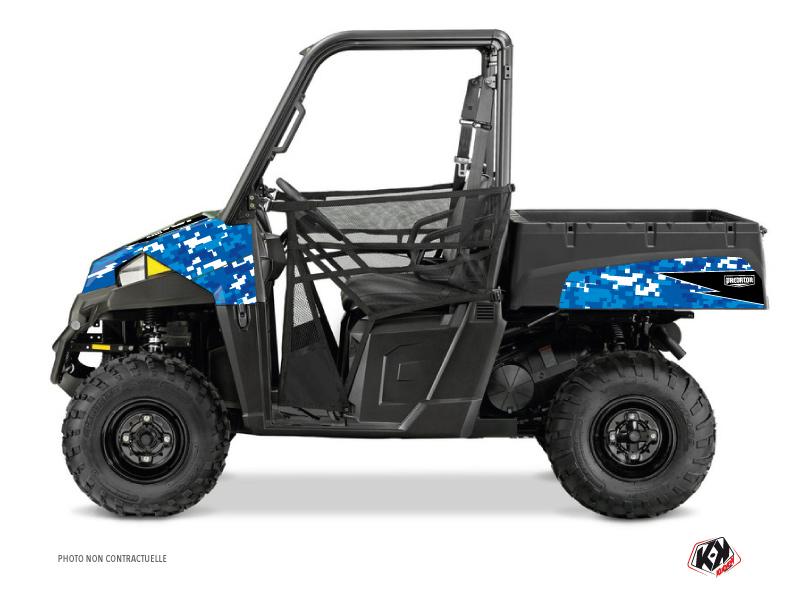 Polaris Ranger 570 UTV Predator Graphic Kit Blue