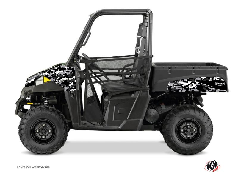 Polaris Ranger 570 UTV Predator Graphic Kit Black