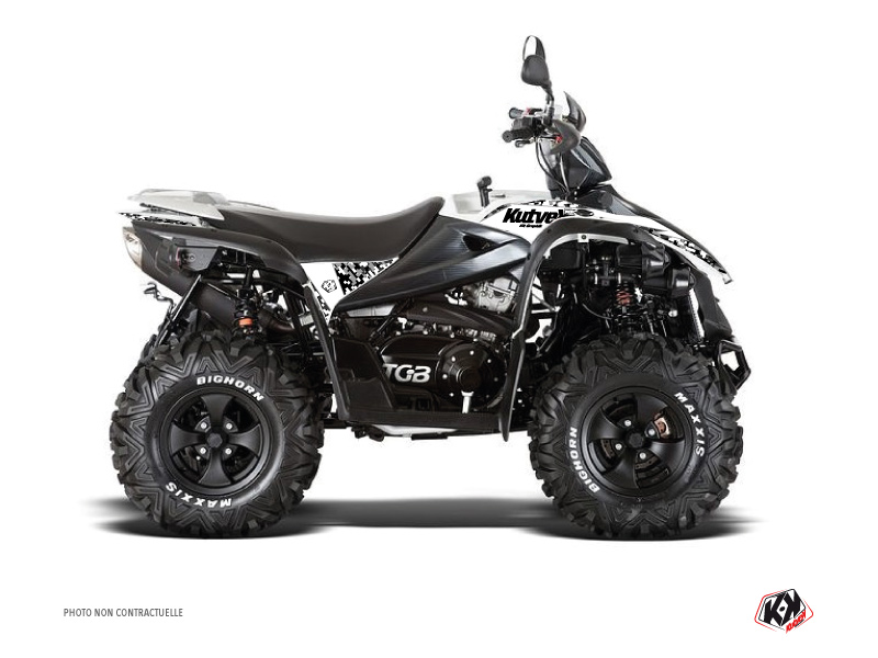 TGB Target ATV Predator Graphic Kit White