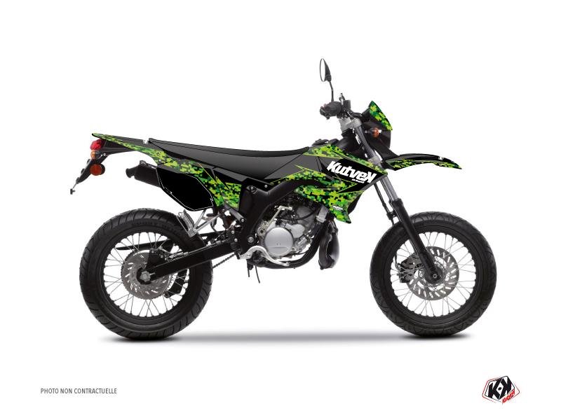 Kit Déco 50cc Predator MBK Xlimit Noir Vert