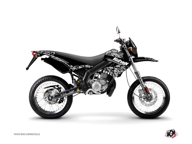 Derbi Xtreme / Xrace 50cc Predator Graphic Kit Black