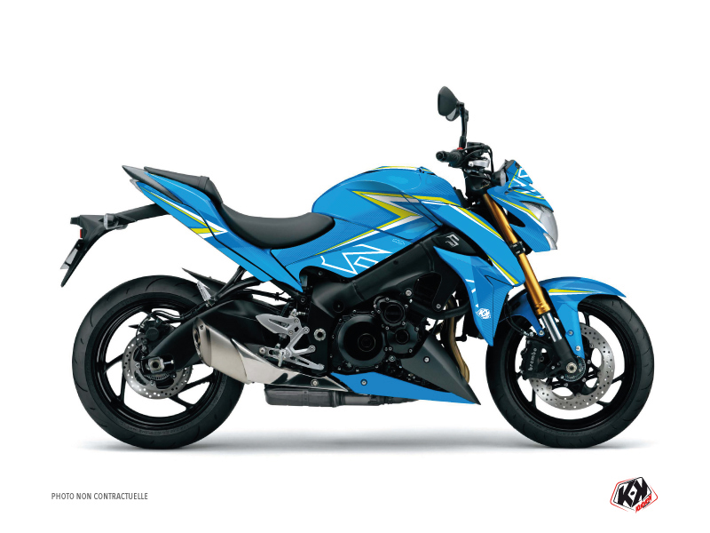 Suzuki GSX-S 1000 Street Bike Profil Graphic Kit Blue