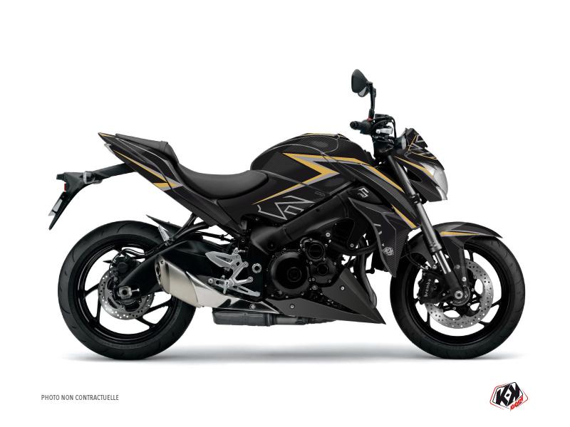 Suzuki GSX-S 1000 Street Bike Profil Graphic Kit Black Yellow