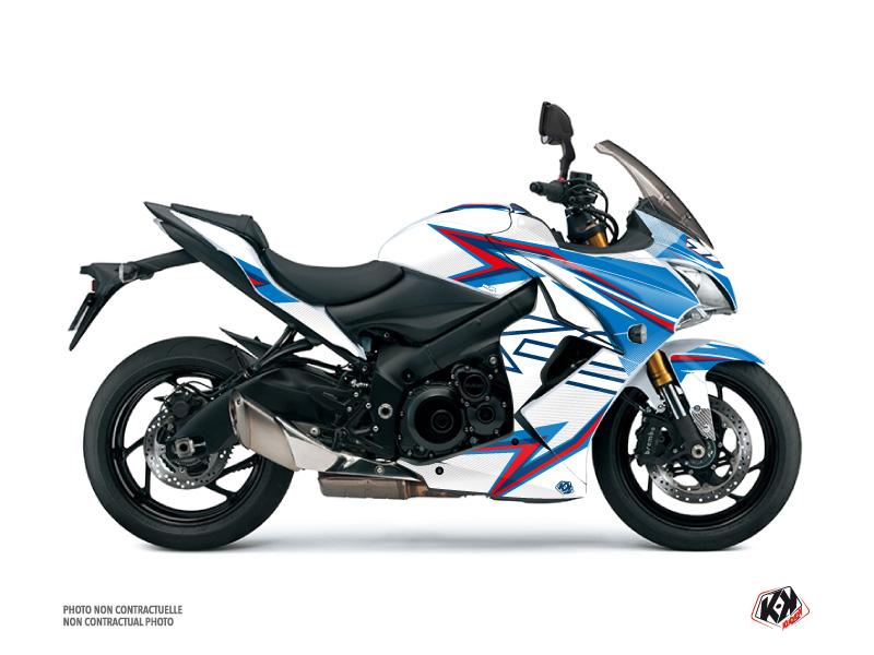 Suzuki GSX-S 1000 F Street Bike Profil Graphic Kit White