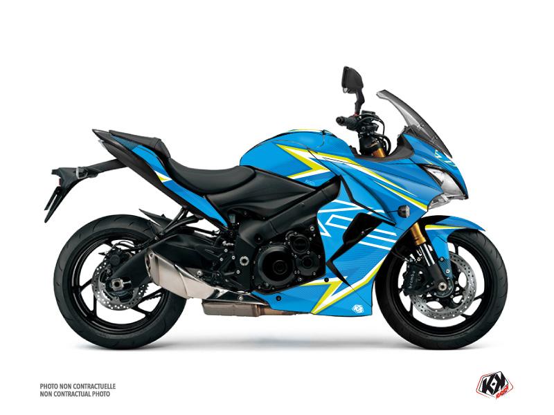 Suzuki GSX-S 1000 F Street Bike Profil Graphic Kit Blue