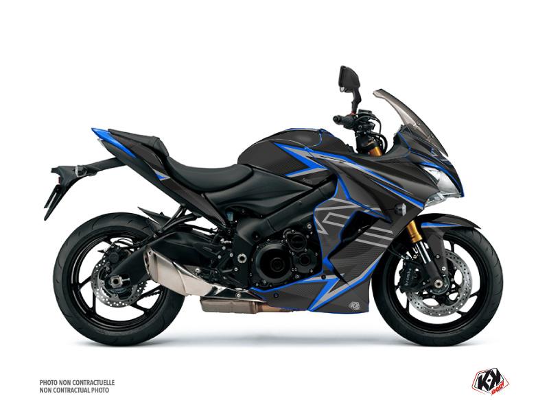 Suzuki GSX-S 1000 F Street Bike Profil Graphic Kit Black Blue