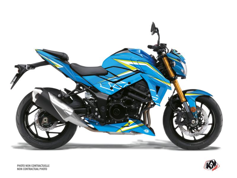 Suzuki GSX-S 750 Street Bike Profil Graphic Kit Blue
