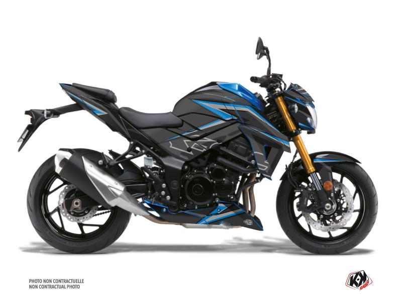Suzuki GSX-S 750 Street Bike Profil Graphic Kit Black Blue