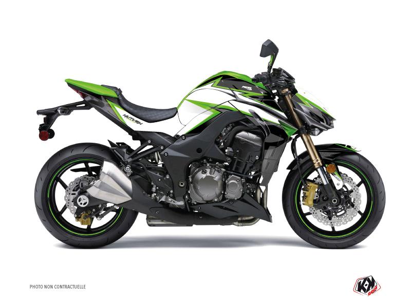 Kawasaki Z 1000 Street Bike Profil Graphic Kit Green