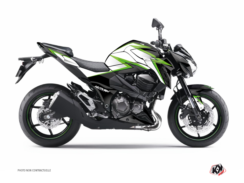Kawasaki Z 800 Street Bike Profil Graphic Kit Green