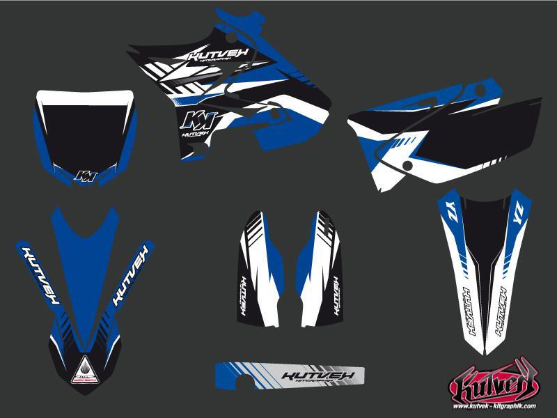 Yamaha 125 YZ Dirt Bike Pulsar Graphic kit UFO Relift