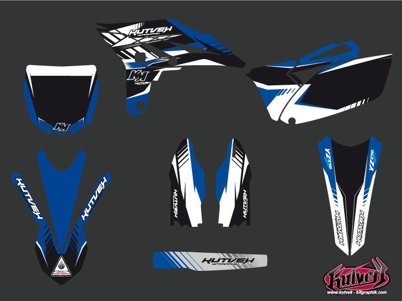 Yamaha 250 YZF Dirt Bike Pulsar Graphic Kit
