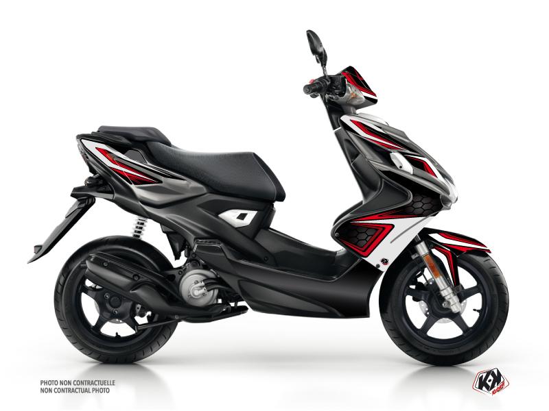 Kit Déco Scooter Race Yamaha Aerox Rouge
