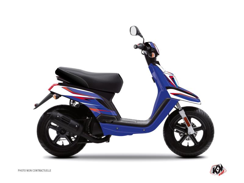 Yamaha BWS Scooter Race Graphic Kit Blue