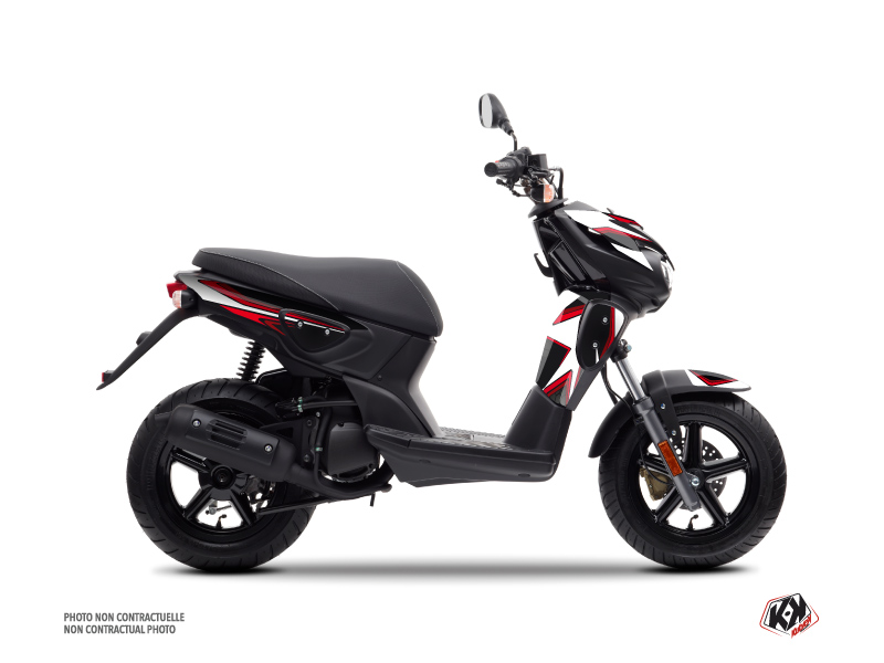 MBK Stunt Scooter Race Graphic Kit Red