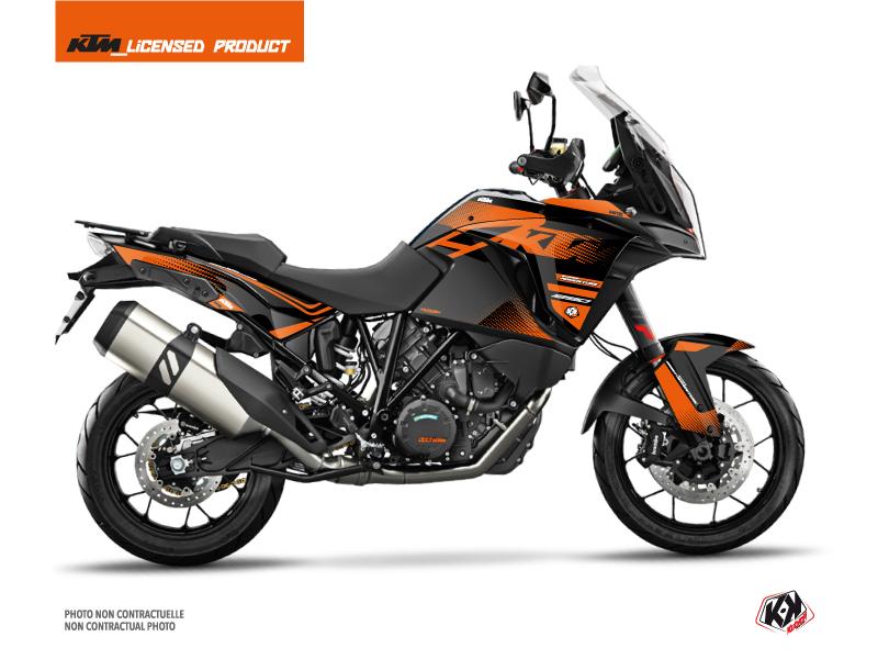 Kit Déco Moto Raster KTM 1290 Super Adventure S Noir Orange