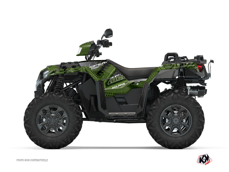 Polaris 1000 Sportsman XP S Forest ATV Redrock Graphic Kit Green