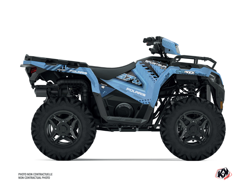Polaris 570 Sportsman ATV Redrock Graphic Kit Blue