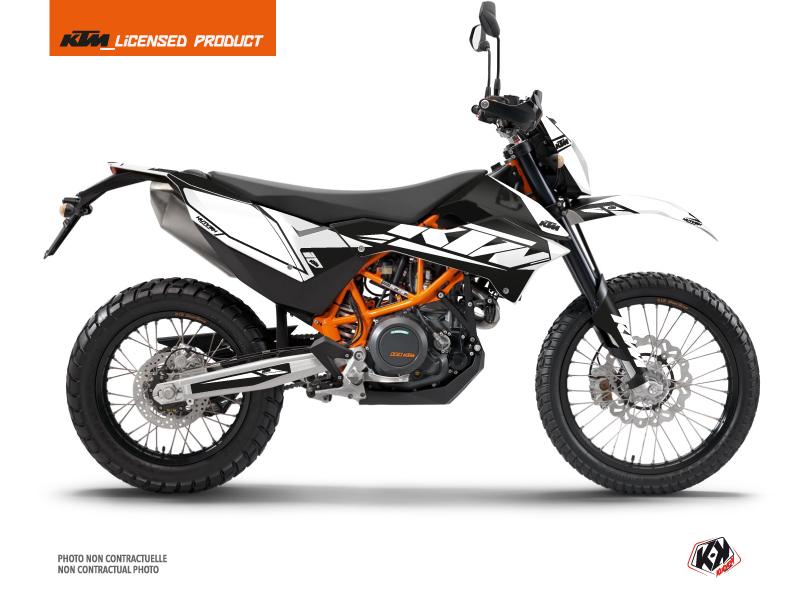 KTM 690 ENDURO R Dirt Bike Reflex Graphic Kit White