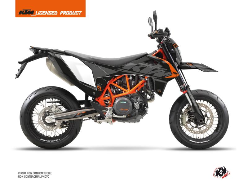 KTM 690 SMC R Dirt Bike Reflex Graphic Kit Black