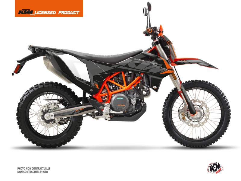 KTM 690 ENDURO R Street Bike Reflex Graphic Kit Black