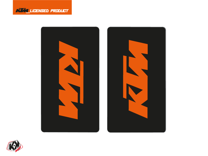 Kit Déco Stickers de fourche Reflex Moto Cross KTM SX-SXF EXC-EXCF Orange