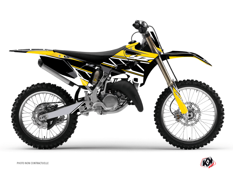 Kit Déco Moto Cross Replica Yamaha 125 YZ Jaune