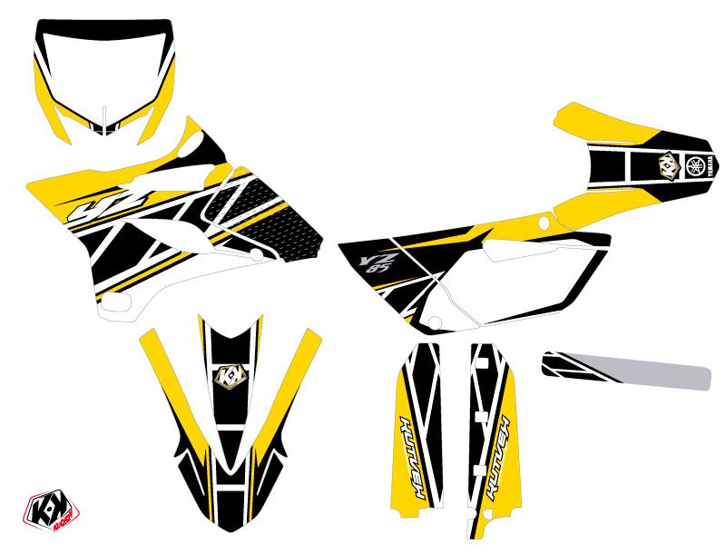 Yamaha 85 YZ Dirt Bike Replica Graphic Kit Yellow