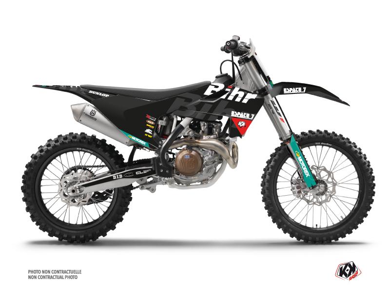 Husqvarna 450 FC Dirt Bike Replica Bihr Graphic Kit