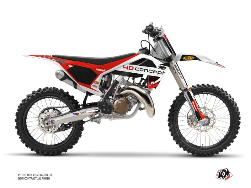 Husqvarna 125 TC Dirt Bike Replica BOS Graphic Kit