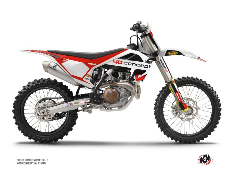 Husqvarna 450 FC Dirt Bike Replica BOS Graphic Kit