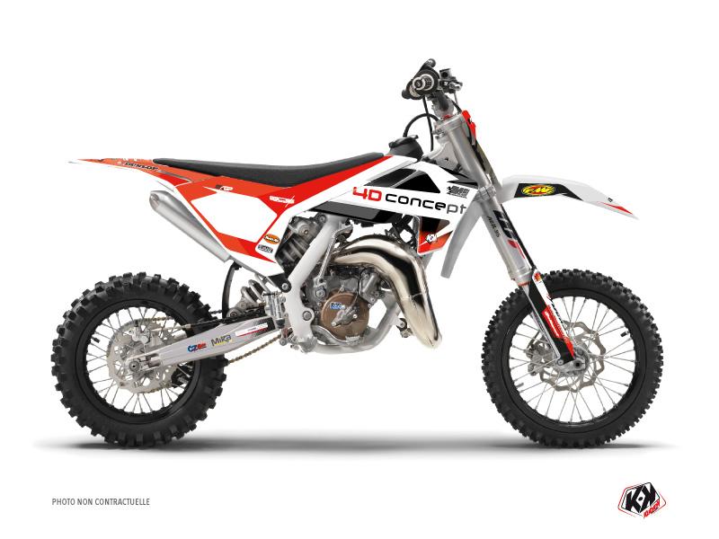Husqvarna 50 TC Dirt Bike Replica BOS Graphic Kit