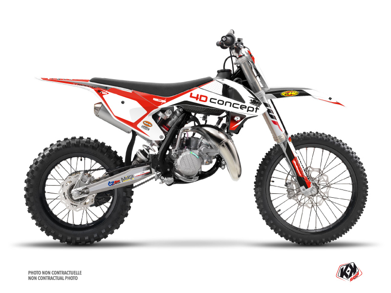 KTM 85 SX Dirt Bike Replica BOS Graphic Kit