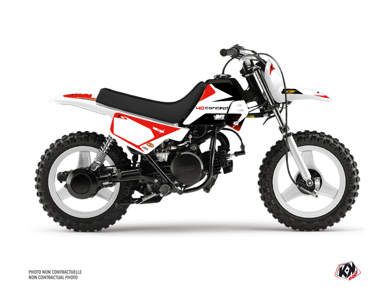 Yamaha PW 50 Dirt Bike Replica BOS Graphic Kit