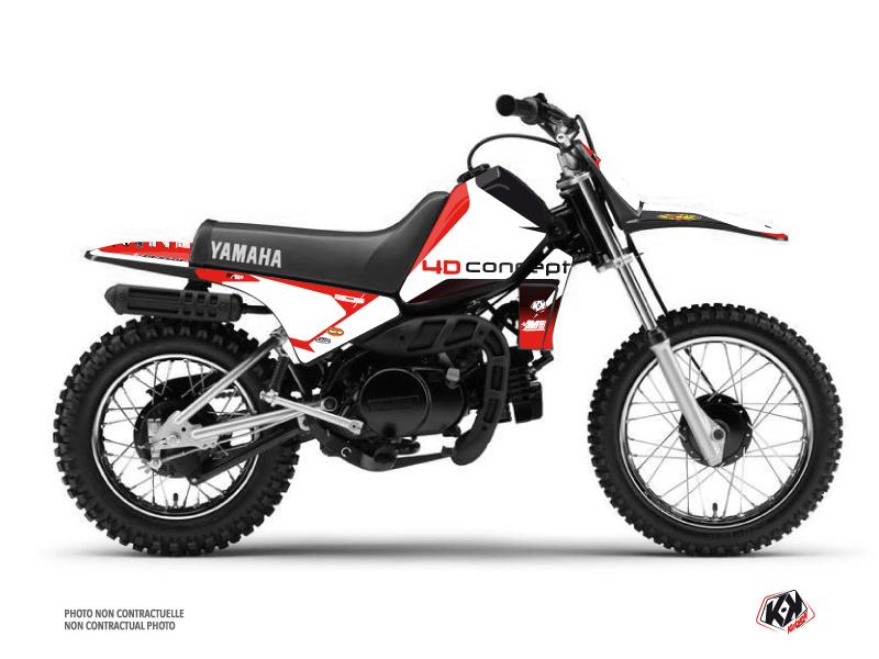 Kit Déco Moto Cross Replica BOS Yamaha PW 80