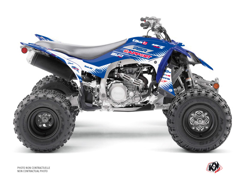 Yamaha 450 YFZ R ATV Replica By Rapport K20 Graphic Kit Blue