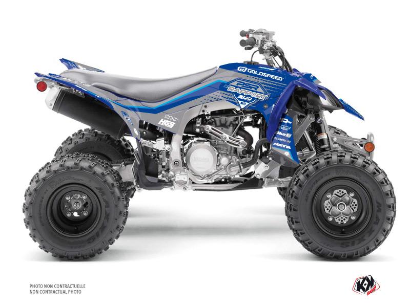 Yamaha 450 YFZ R ATV Replica By Rapport K20 Graphic Kit Blue Grey