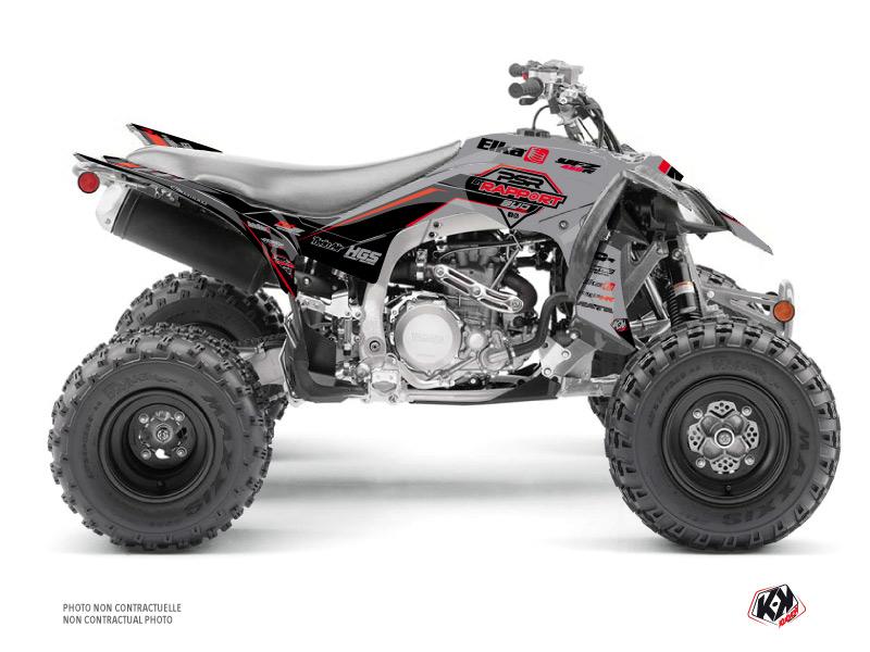 Yamaha 450 YFZ R ATV Replica By Rapport K20 Graphic Kit Grey Black