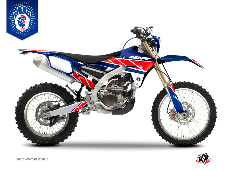 Yamaha 250 WRF Dirt Bike Replica France 2018 Limited Edition Graphic Kit