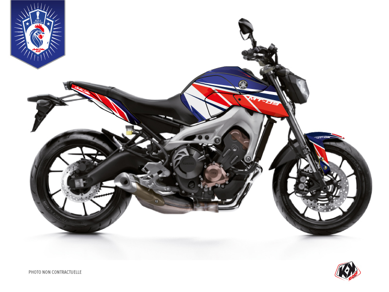 Yamaha MT 09 Street Bike Replica France 2018 Limited Edition Graphic Kit