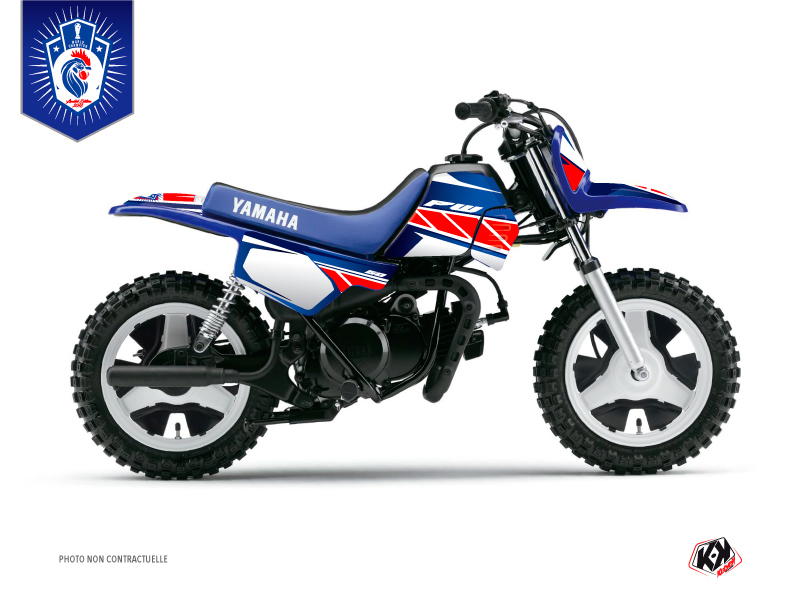 Yamaha PW 50 Dirt Bike Replica France 2018 Limited Edition Graphic Kit