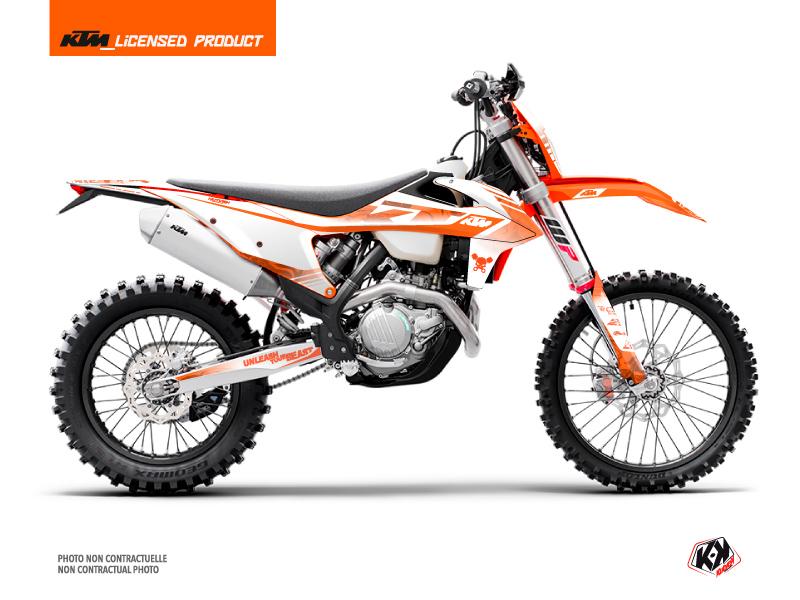 KTM EXC-EXCF Dirt Bike Replica Thomas Corsi 2020 Graphic Kit Orange