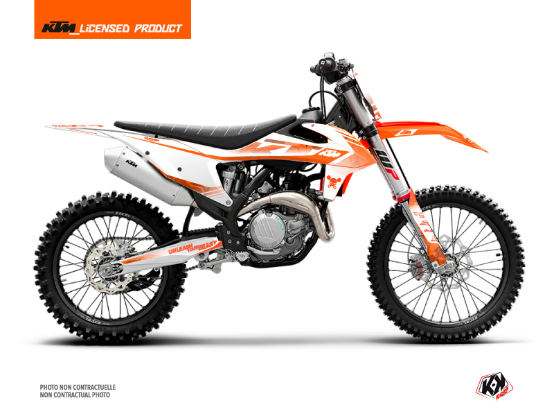 KTM 250 SX Dirt Bike Replica Thomas Corsi 2020 Graphic Kit Orange