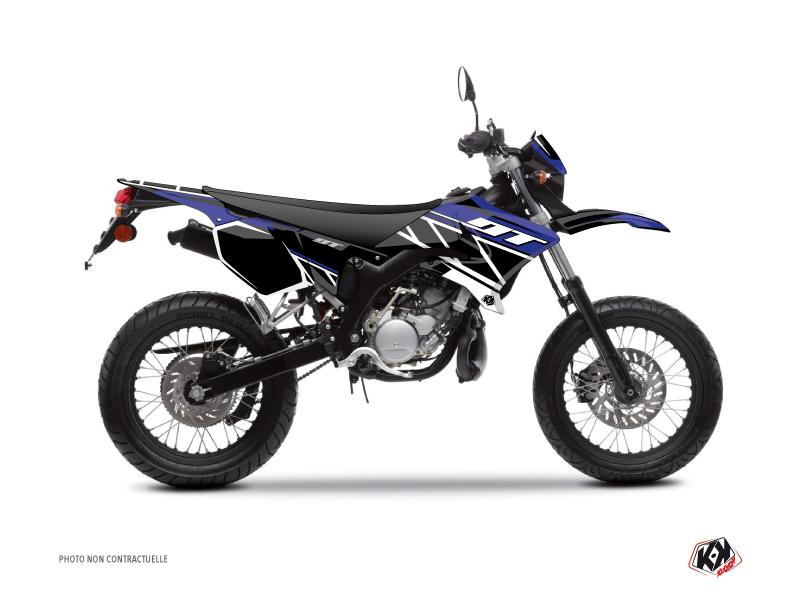 Kit Déco 50cc Replica Yamaha DT 50 Bleu