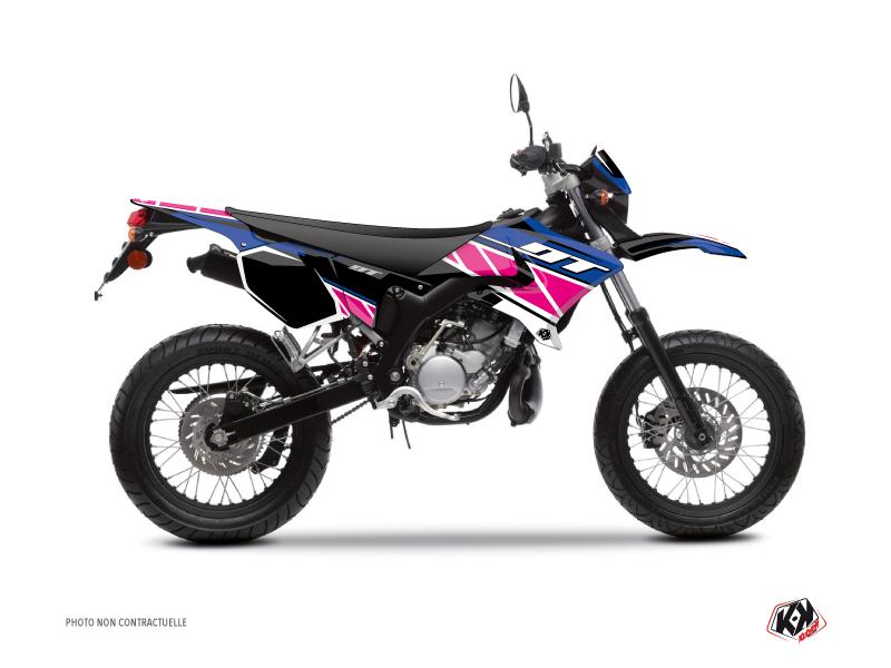 Kit Déco 50cc Replica Yamaha DT 50 Rose