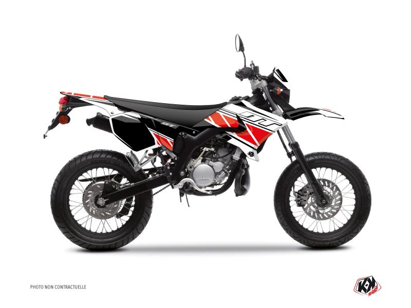 Kit Déco 50cc Replica Yamaha DT 50 Rouge