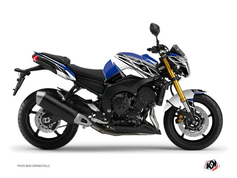 Yamaha FZ 8 Street Bike Replica Graphic Kit Blue