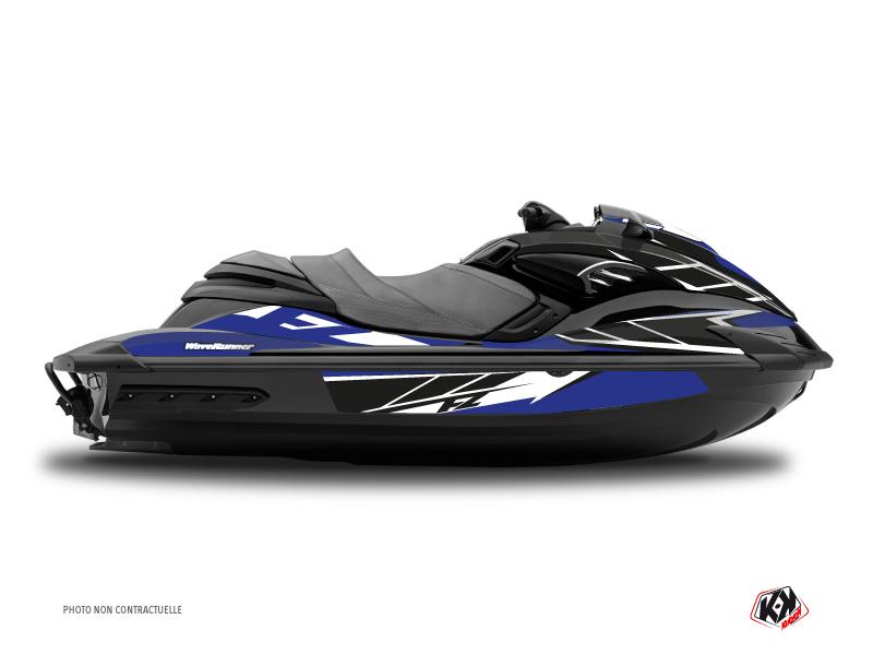 Yamaha FZR-FZS Jet-Ski Replica Graphic Kit Blue